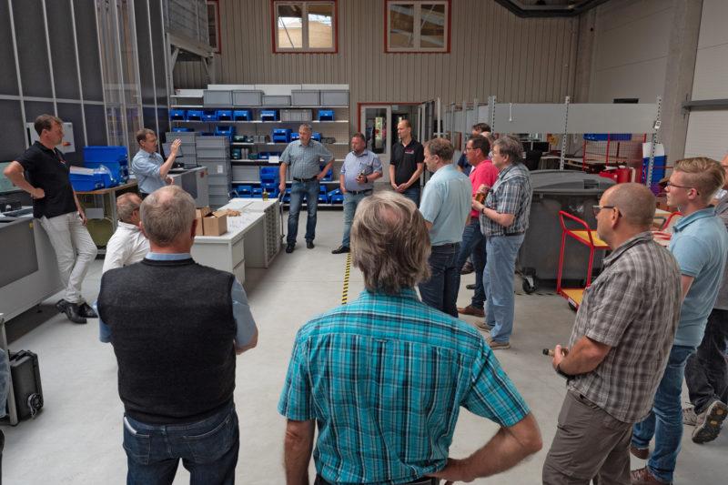 Besuch der DVGW Bezirksgruppe Osnabrück