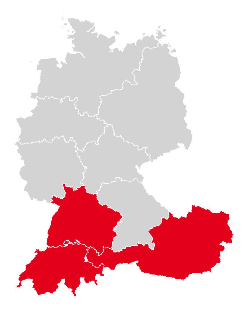 Vertriebsgebiete-Kaiser