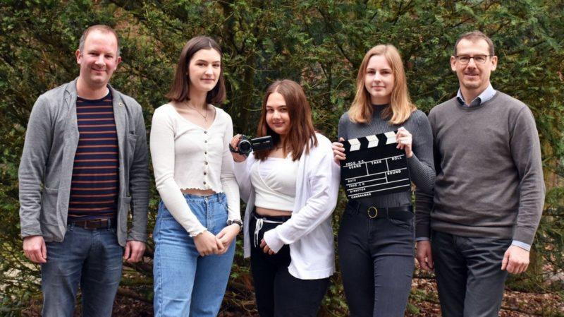 Lingener Schülerinnen produzieren Imagefilm für Unternehmen
