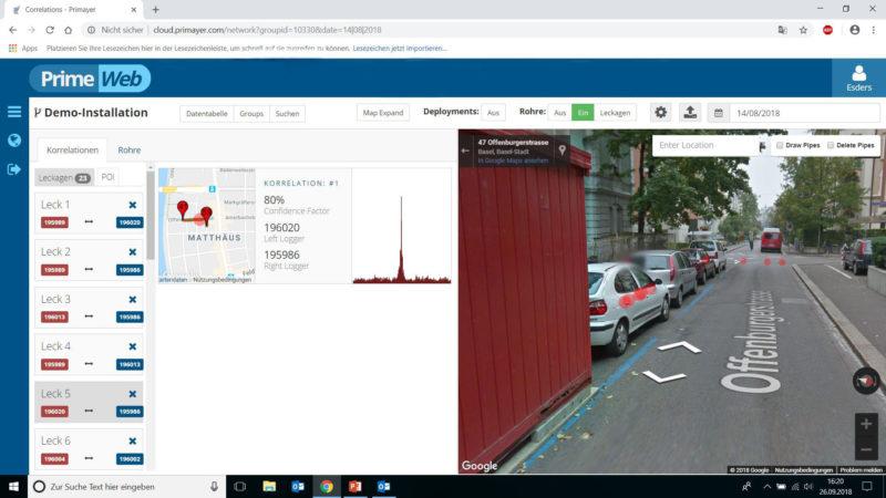 Enigma3m StreetView Ansicht
