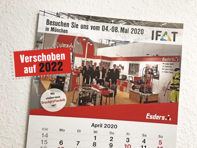 IFAT 2020: Hätte, hätte, Fahrradkette!