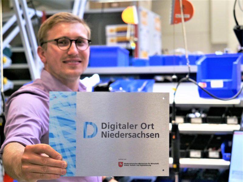 """Auszeichnung """"Digitaler Ort Niedersachsen"""""""