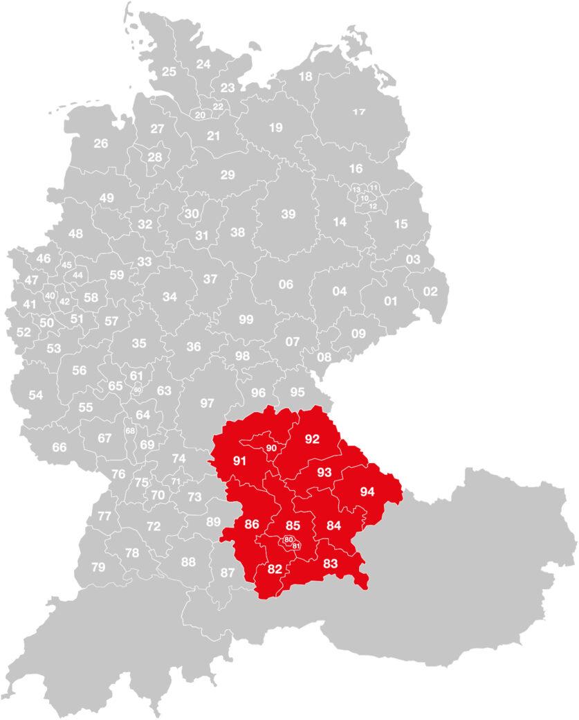 Vertriebsgebiet-Hofmann