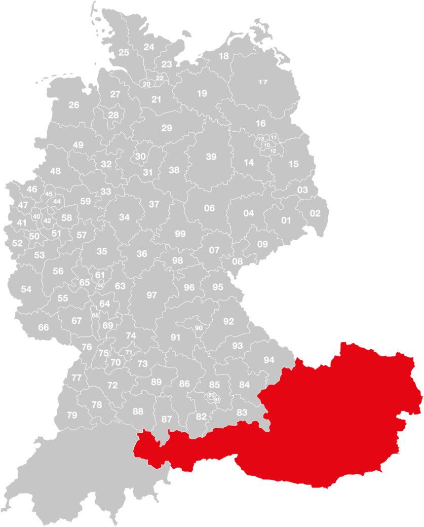 Vertriebsgebiet-Mayrhofer