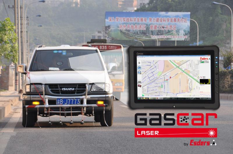 Gasspürfahrzeug