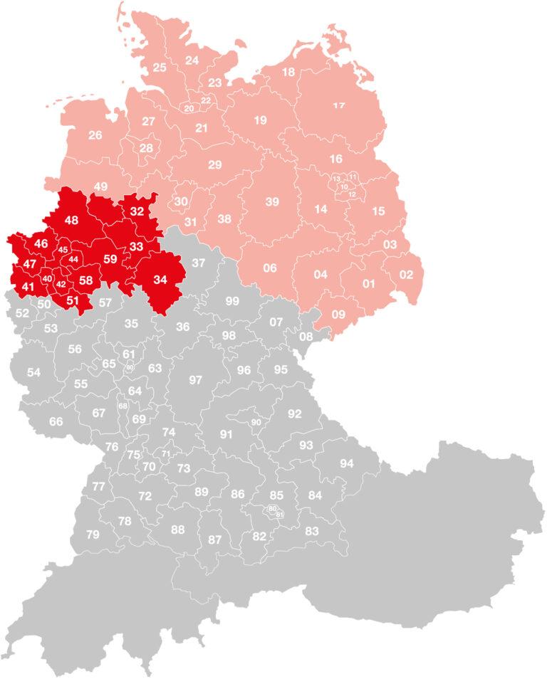 Vertriebsgebiet-Nienhaus