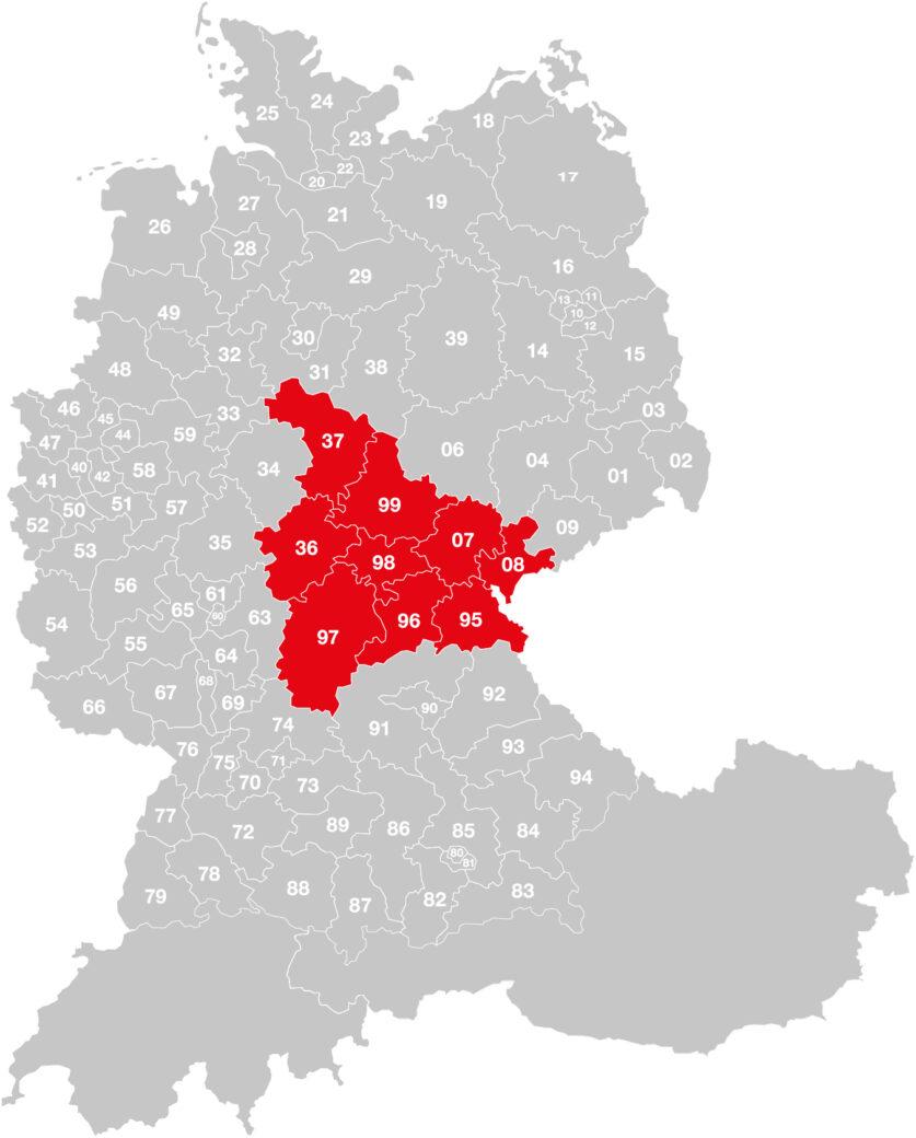 Vertriebsgebiet-Schmidt
