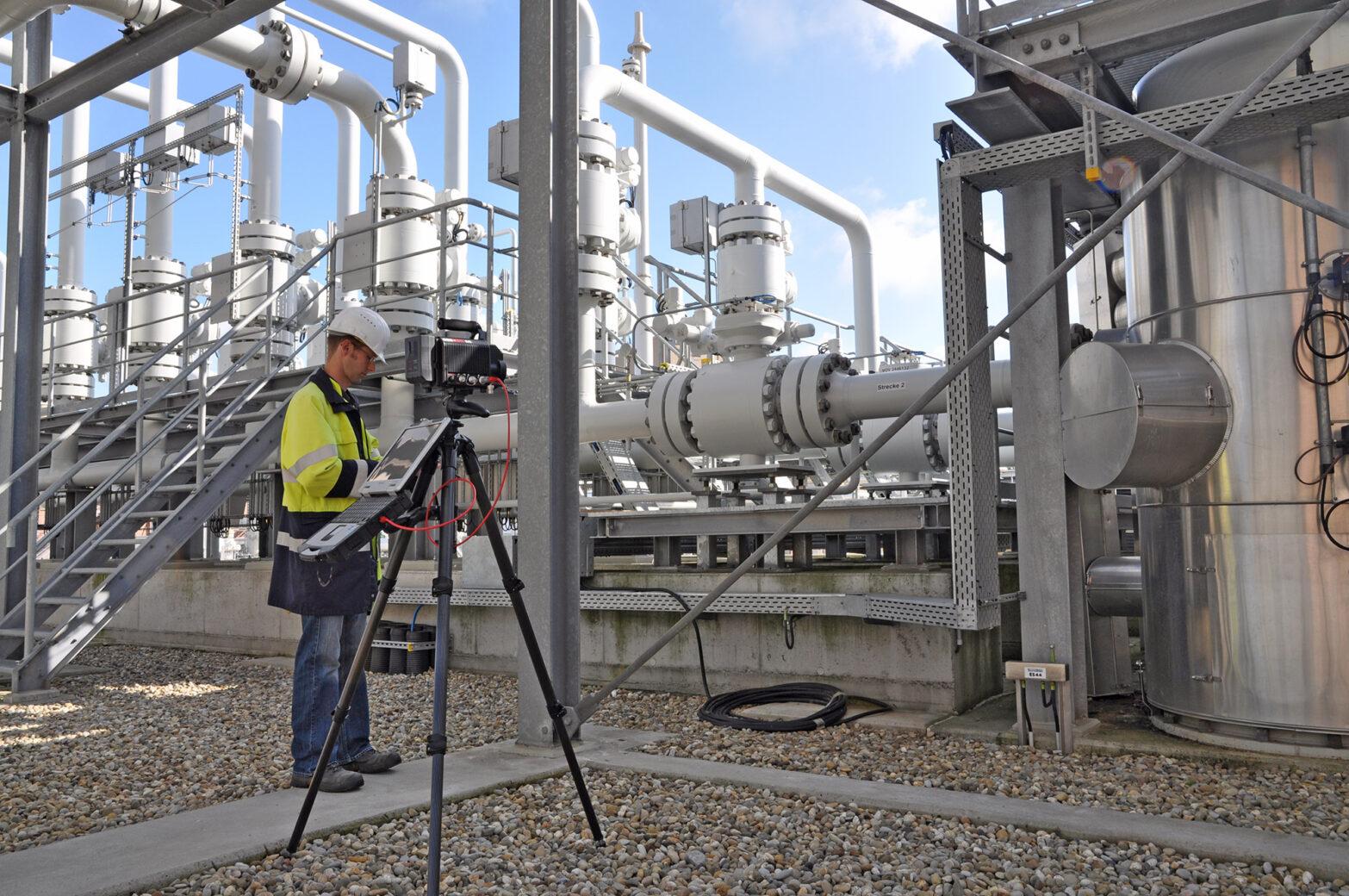 Industriegas – Mängelbeseitigung und Dokumentation