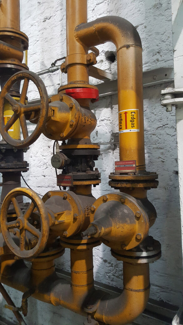 Maengelbeseitigung-Industriegas