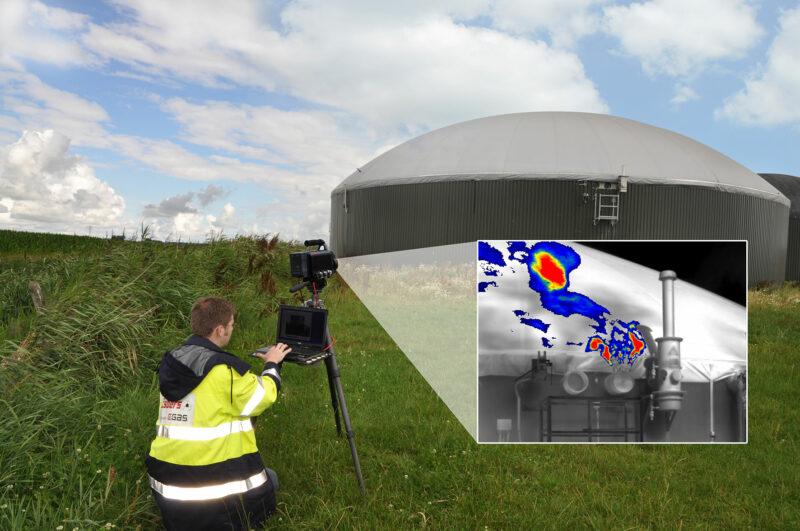 Biogas messen – Lecksuche