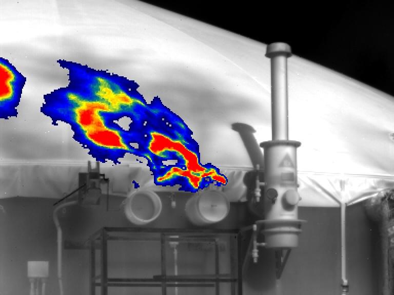 Visualisierung-Gaswolke-Gascam